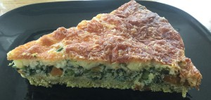 Havermout en Boerenkool quiche