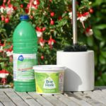 Schoonmaakazijn en groene zeep
