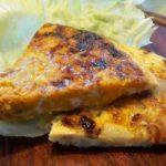 Spaanse tortilla met aardappel en ui
