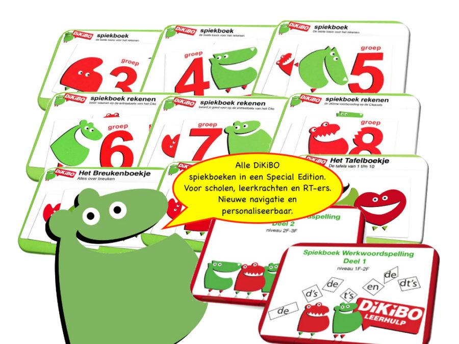 Dikibo spiekboeken special edition