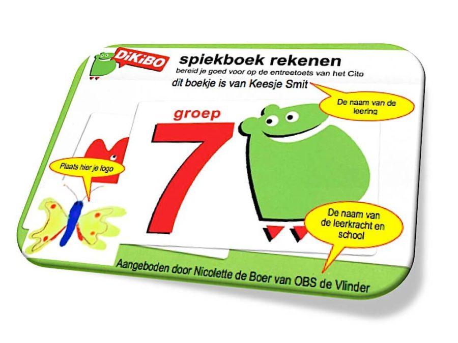 Spiekboek rekenen groep 7